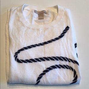 Banana Republic Cotton Rope Sweater